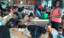 2015-I2H Pilot with Students on FieldTrip to Denny's
