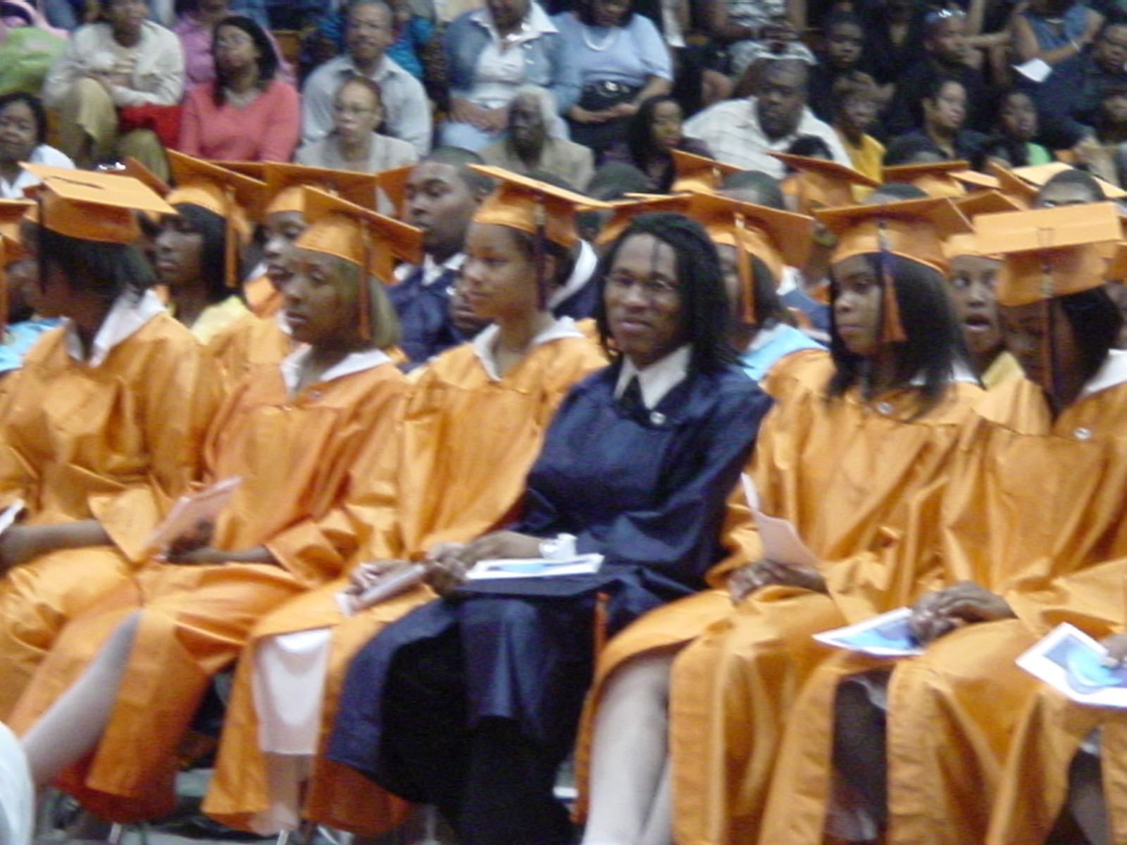 2008-Graduation of Rudy who was Student/Mentor/Staff