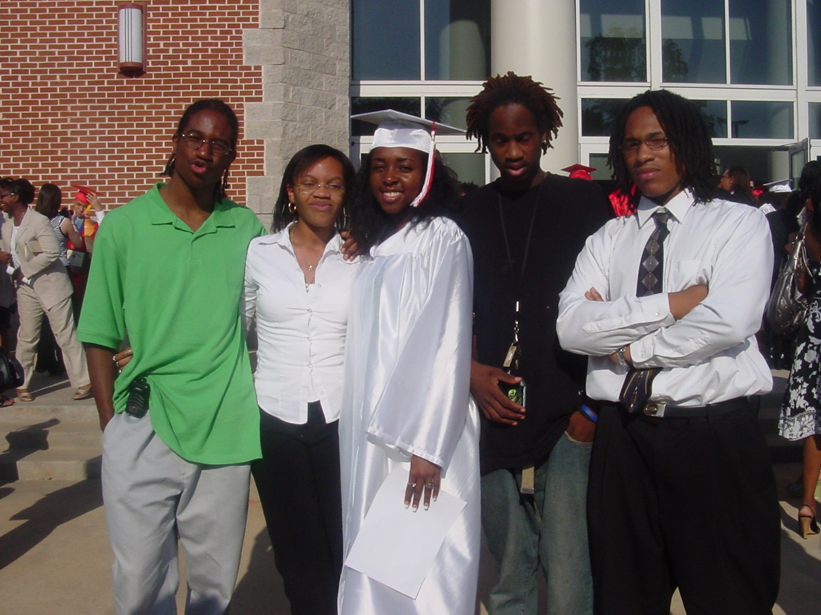 2008-Graduation of Students who became Mentors then Staff